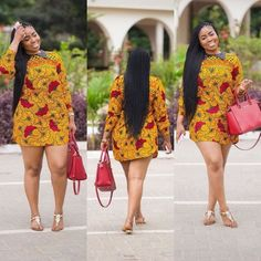 The best collection of 2018 most stylish ankara designs you've been looking for. We have them complete stylish ankara designs 2018 here African Dresses For Women, African Print Dresses, African Print Fashion, Africa Fashion, African Attire, African Wear, African Fashion Dresses, African Women, African Prints