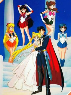Sailor moon. I grew up loving this show! Oh the memories!