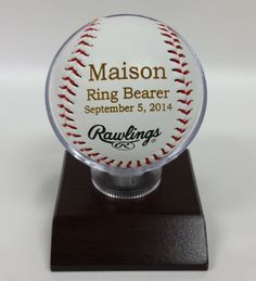 Engraved Rawlings Baseball MLB Baseballs Perfect by ILPGiftShop