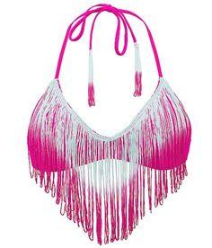 Bikini Lab Fringe Ferdinand Swimwear Top