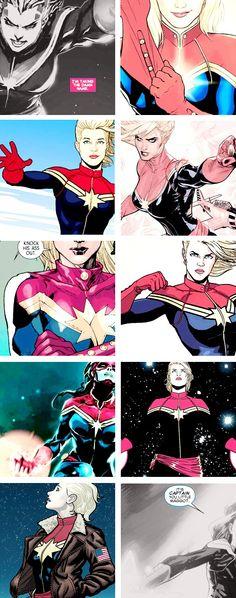 Captain Marvel: I'm taking the damn name.