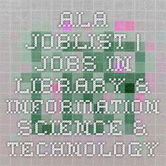 ALA JobLIST | Jobs i
