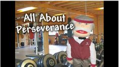 All about Perseverance: Mr. Stanley tells stories about sticking with it and having perseverance