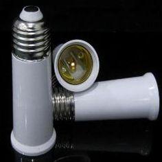 [ $20 OFF ] E27 Base Lamp Holder Converter E27 To E27 95Mm Extend 200Pcs