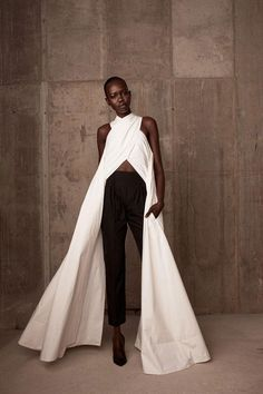 Rosie Assoulin's First Collection- like the idea of the top...but maybe shorter version