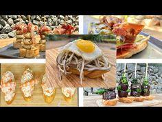 PINTXOS Y TAPAS DE ESPAÑA Cap.1 - GUILLE RODRIGUEZ - YouTube Canapes, Meat, Empanada, Food, Youtube, Gastronomia, Spanish Tapas, Easy Food Recipes, Finger Foods