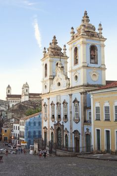 Pelourinho is Salvador de Bahia's historic center and is home to some of the prettiest pastel-hued colonial architecture in Brazil.