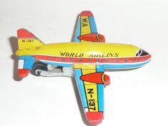 JAPAN-FLUGZEUG-AIRPLANE-JET-WORLD-AIRINES-60th-tin
