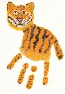 Tigre Empreinte