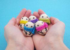 Teeny Tiny Mochimochi Snowmen by Mochimochi Land, via Flickr