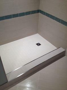 Decorative Bullnose Tile Trim Endearing Metal Trim For Large Tiles With No Bullnose Option Home Design Decoration
