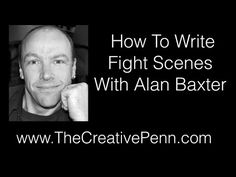 How To Write Fight Scenes With Alan Baxter | The Creative Penn