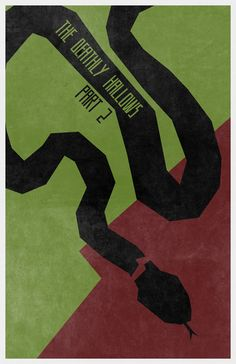 Harry Potter and The Deathly Hallows (Part 2) #Movie #Poster - Minimalist Movie Poster