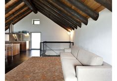 Dywany Silver :: Dywan naturalny vintage 8522 MayanSun - pomarańczowo brązowy - Carpets&More - wysokiej klasy dywany i akcesoria tekstylne