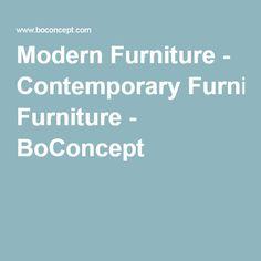 Modern Furniture - Contemporary Furniture - BoConcept