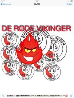 DE RØDE VIKINGER❗️ #bkskjold #boldklubbenskjold #skjold