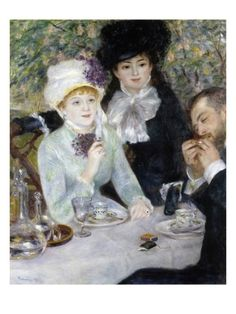 After the Luncheon Giclee Print by Pierre-Auguste Renoir at Art.com