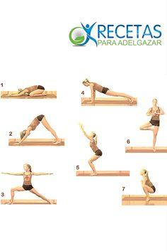 ¡Define tu abdomen con estos movimientos de pilates!#Fitness