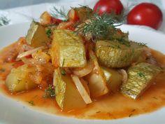 Hellena  ...din bucataria mea...: Ghiveci cu dovlecei Thai Red Curry, Ethnic Recipes, Diet