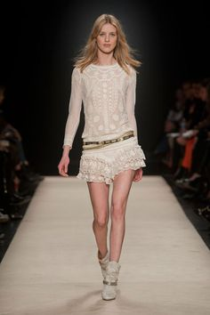 Isabel Marant - RTW - FW12 : Dentelle - CUTEST OUTFIT EVER !! ^_^