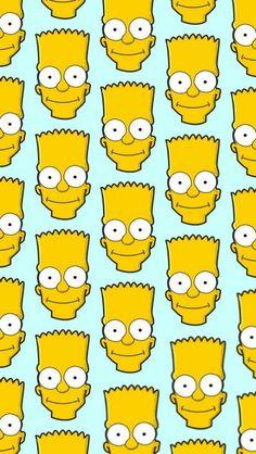 Bart Simpson Ipod Wallpaper, Simpson Wallpaper Iphone, Pop Art Wallpaper, Trendy Wallpaper, Cartoon Wallpaper, Cute Wallpapers, Simpsons Drawings, Simpsons Art, Bart E Lisa