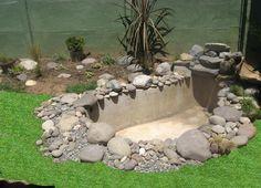 cascadas de piedra para jardin - Pesquisa Google