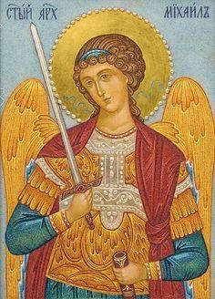 Stone Icon of Michael the Archangel Archangel Gabriel, Archangel Michael, Religious Icons, Religious Art, Spiritual Warrior, Angel Drawing, Byzantine Icons, Angels Among Us, Saint Michel