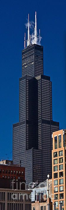 Willis Tower, Chicago, Illinois (will always be the Sears Tower to me)