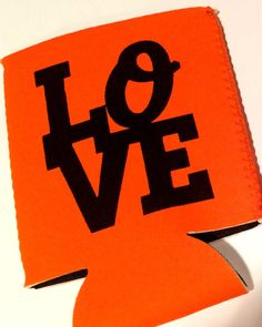 Baltimore Orioles LOVE Koozie by HeadyMementos on Etsy, $5.00