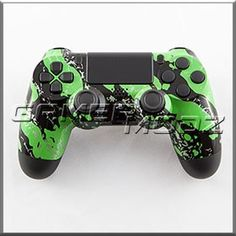 Green Marble PS4 Custom Modded Controller