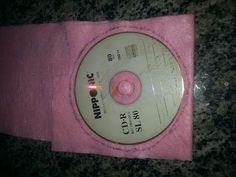 Diário Feminino: Porta cartões de cd