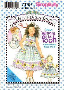 sewing projects by daisy kingdom   Amazon.com: Simplicity 7199 Sewing Pattern Daisy Kingdom Winnie the ...