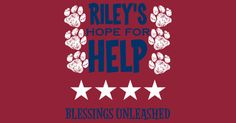 Buy a t-shirt to support Service Dog for Autism: Riley Theodorou. Please share!