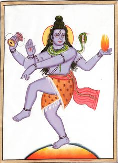 Mahadev Shiva Painti