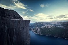 Where you get to know yourself by BricePortolano, via Flickr pulpit rock, norway