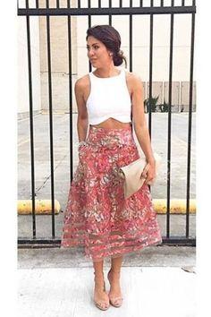 Strawberry Hill Skirt