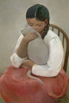 "Art-Monie: Sandra Bierman"" ses chats"""