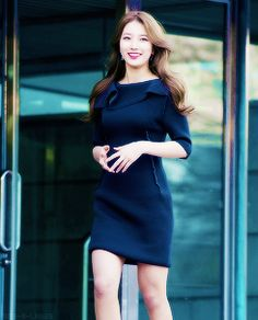 suzy Miss A Suzy, Cute Korean Girl, Bae Suzy, Dresses For Work, Actresses, Girls, Fashion, Female Actresses, Toddler Girls