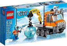 BNIB Lego City 60033 Arctic Ice crawler truck snow ski scape mini figure set