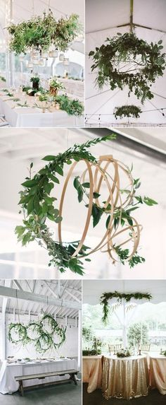 Wedding Decorations Greenery Beautiful - 60 amazing greenery wedding details for your big day 2017 Wedding Table, Diy Wedding, Rustic Wedding, Wedding Reception, Wedding Ideas, Wedding Inspiration, Fall Wedding, Reception Ideas, 2017 Wedding