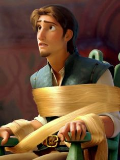 Well, he is a real hero)) His evolution from a thief to a hero is so cute. The most interesting about him is that he cuts Rapunzel's hair before letting her heal him. He apreciates her dream more than his own life! Rapunzel Story, Rapunzel And Eugene, Disney Rapunzel, Tangled Rapunzel, Tangled 2010, Flynn Rider, Disney And Dreamworks, Disney Pixar, Walt Disney