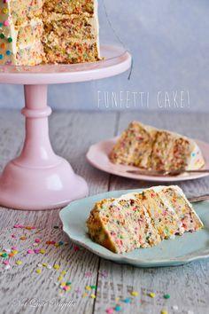 Chiffon Funfetti Cake
