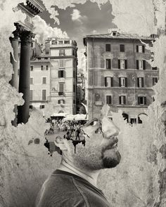 Where is my mind art works gallery by Andrea Costantini, 21 images - Art Limited Collages, Collage Art, Multiple Exposure, Double Exposure, Art Alevel, Where Is My Mind, Fruit Photography, Photography Ideas, Photoshop
