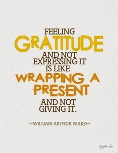 Attitude of Gratitude 2013 - Day 4