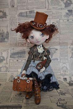 Коллекционные куклы ручной работы. позволь себе немного приключений.... светлана фадеева. Интернет-магазин Ярмарка Мастеров. Путешествие, транспорт