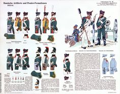 Russia; Artillery and Pioneer Units, 1812-14 by H.Knotel