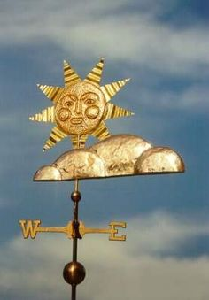 silver lining weather vane?