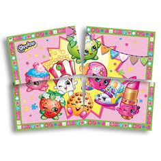 Painel Gigante Shopkins