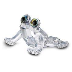 """Swarovski Crystal """"Baby Frog"""""""