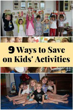 9 Ways to Save on Kids' Activities